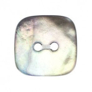Size 20mm, 2 Hole, Metalic Effect, Silver, Pack of 3