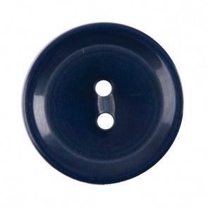 Size 15mm, 2 Hole, Blue, Pack of 5