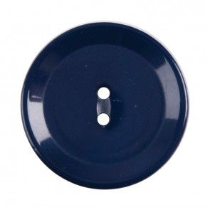 Size 20mm, 2 Hole, Blue, Pack of 3