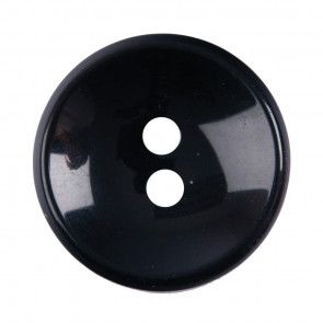 Size 25mm, 2 Hole, Black, Pack of 2