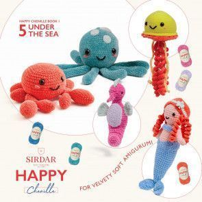 Sirdar Happy Chenille Book 1 - Under the Sea