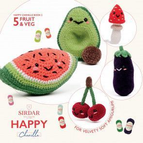 Sirdar Happy Chenille Book 2 - Fruit & Veg