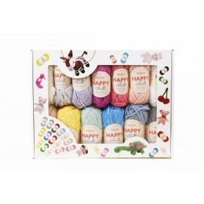 Sirdar Happy Chenille Multibox (25 x 15g balls)