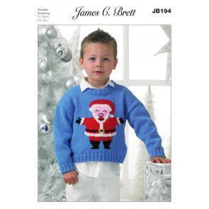 Sweater in James C. Brett Top Value DK (JB194)