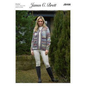 Jacket in James C. Brett Marble Chunky (JB498)