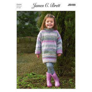 Sweater in James C. Brett Marble Chunky (JB499)