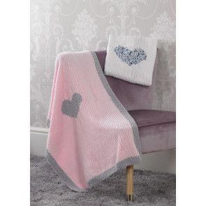 Blankets in James C Brett Flutterby Chunky (JB525)