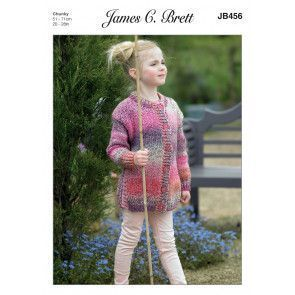 Tunic and Jacket in James C. Brett Marble Chunky (JB456)