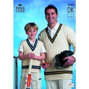 Cricket Sweaters in King Cole Merino Blend DK (2940)