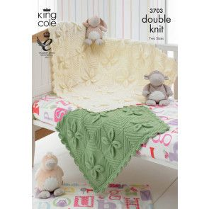 Blankets in King Cole Comfort Baby DK (3703)