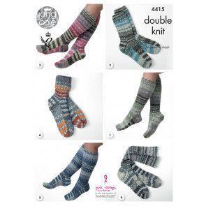 Socks in King Cole Drifter DK (4415)