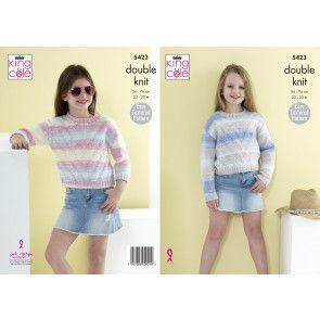 Sweaters in King Cole Beaches DK (5423)