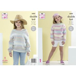 Sweaters in King Cole Beaches DK (5425)