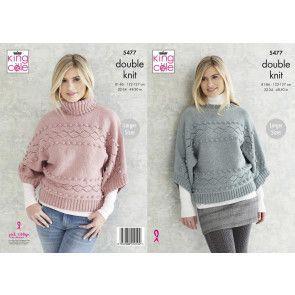 Sweaters in King Cole Subtle Drifter DK (5477)