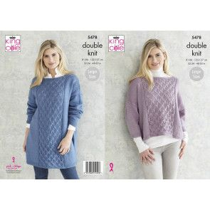 Sweaters in King Cole Subtle Drifter DK (5478)