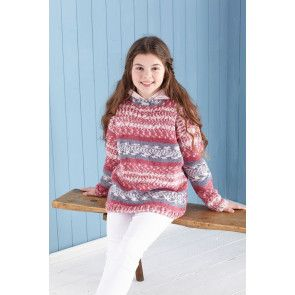 Sweater and Hoodie in King Cole Fjord DK (5650)