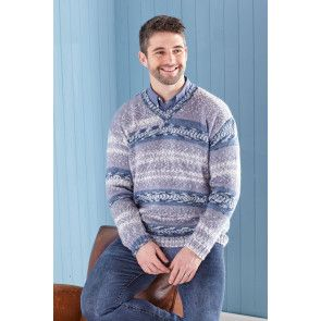 Sweater and Tank in King Cole Fjord DK (5651)