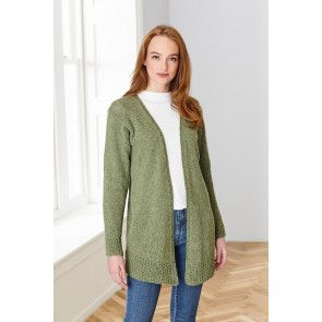 Cardigans in King Cole Forest Aran (5658)