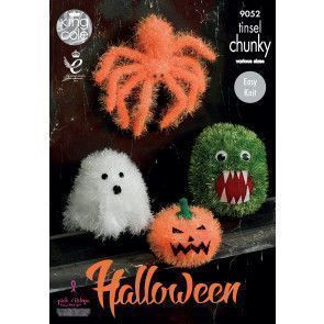 Halloween Monsters in King Cole Tinsel Chunky and Dollymix DK (9052)