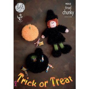 Halloween Characters in King Cole Tinsel Chunky (9053)