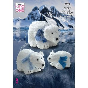 Polar Bears in King Cole Tufty (9094)