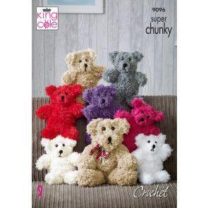 Bears in King Cole Tufty (9096)