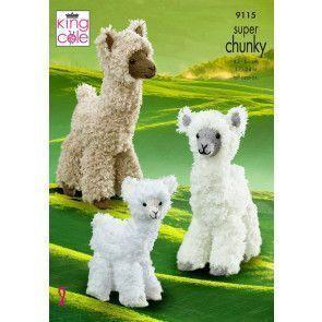 Alpacas in King Cole Tufty (9115)