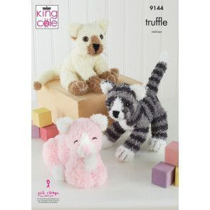 Cats in King Cole Truffle (9144)