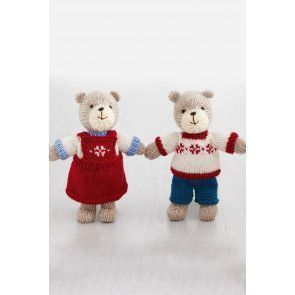 Bears And Outfits Knitting Pattern