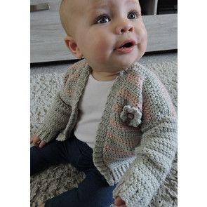 Cardigan in Cygnet Pure Baby DK (CY1241)