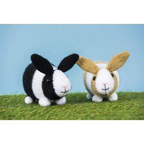 Rabbit Toys Knitting Pattern