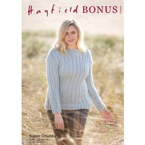 Sweater in Hayfield Bonus Super Chunky (10000)