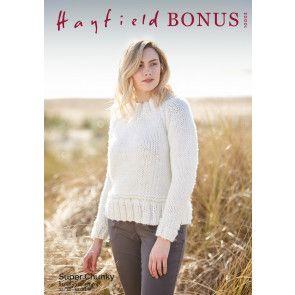 Sweater in Hayfield Bonus Super Chunky (10003)