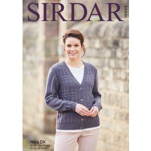 Cardigan in Sirdar No.1 DK (10005)