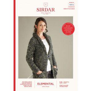 Cardigan in Sirdar Elemental (10016)
