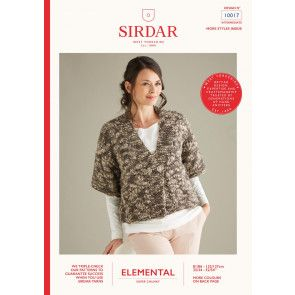 Cardigan in Sirdar Elemental (10017)