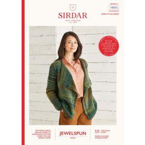 Cardigan Knitted in Sirdar Jewelspun (10025)