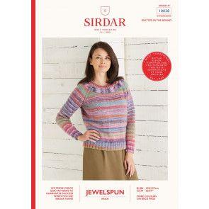 Sweater in Sirdar Jewelspun (10028)