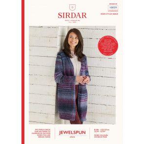 Jacket in Sirdar Jewelspun (10029)