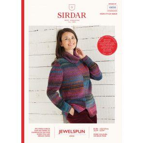 Sweater in Sirdar Jewelspun (10030)