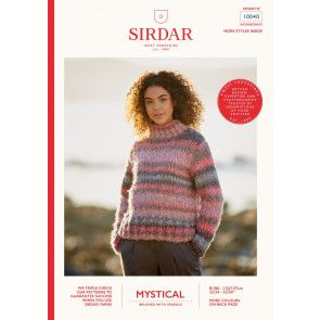 Sweater in Sirdar Mystical (10040)