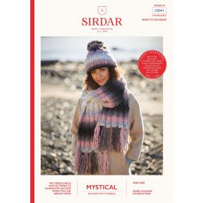 Hat and Scarf in Sirdar Mystical (10041)
