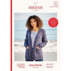 Cardigan in Sirdar Girlfriend (10051)