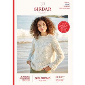 Sweaters in Sirdar Girlfriend (10054)