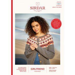 Cardigan in Sirdar Girlfriend (10057)