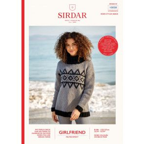 Sweater in Sirdar Girlfriend (10058)