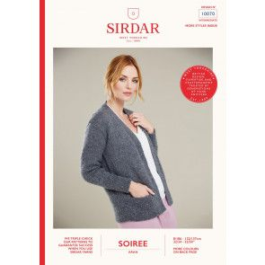 Jacket in Sirdar Soiree (10070)