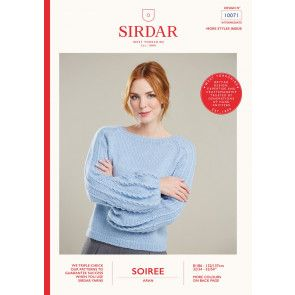 Sweater in Sirdar Soiree (10071)