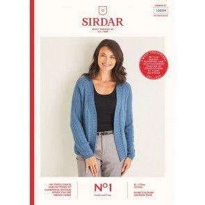 Cardigan in Sirdar No.1 DK (10094)