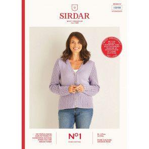 Cardigan in Sirdar No.1 DK (10098)
